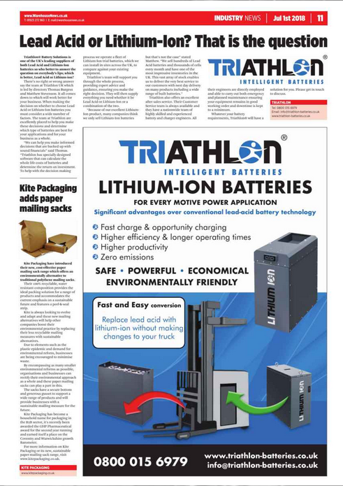 Lead Acid Batteries or Lithium-Ion Batteries?