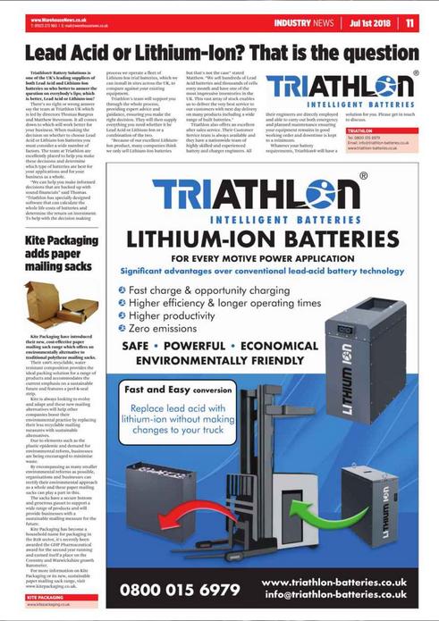 Lead Acid Batteries or Lithium-Ion Batteries?